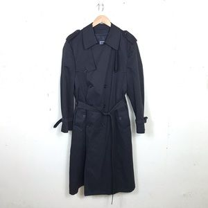 CHRISTIAN DIOR Monsieur Double Breast Trench Coat